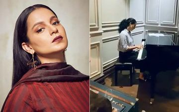 Kangana Ranaut Turns To Classics As She Plays Love Story Theme Music On The Piano At Her House In Manali - VIDEO