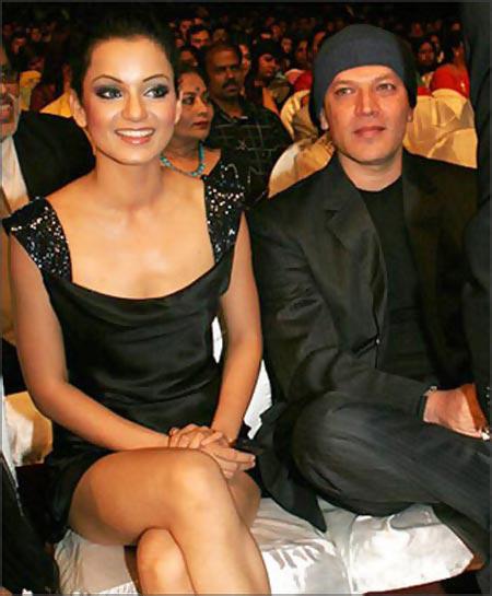 kangana ranaut and aditya pancholi together