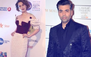 AWKWARD! When Kangana Ranaut Stood Right Behind Karan Johar To Greet Nita Ambani