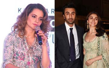 """Kangana Ranaut Attacks Alia Bhatt-Ranbir Kapoor Again, Says, """"Bacche Hai Ki Dumb Hai?"""""""