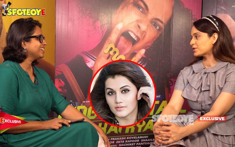 Kangana Ranaut Comments On Deepika Padukone, Alia Bhatt, Katrina & Kareena; Singles Out Taapsee Pannu On Sasti Copy Controversy- EXCLUSIVE