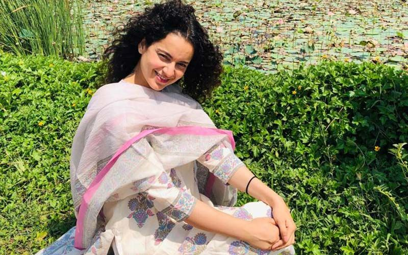 Kangana Ranaut Enjoys Her Time In Nature's Lap, Post A Yoga Session