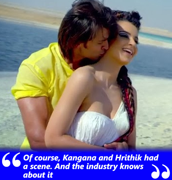 kangana ranaut had a scene together the whole of industry knows about it