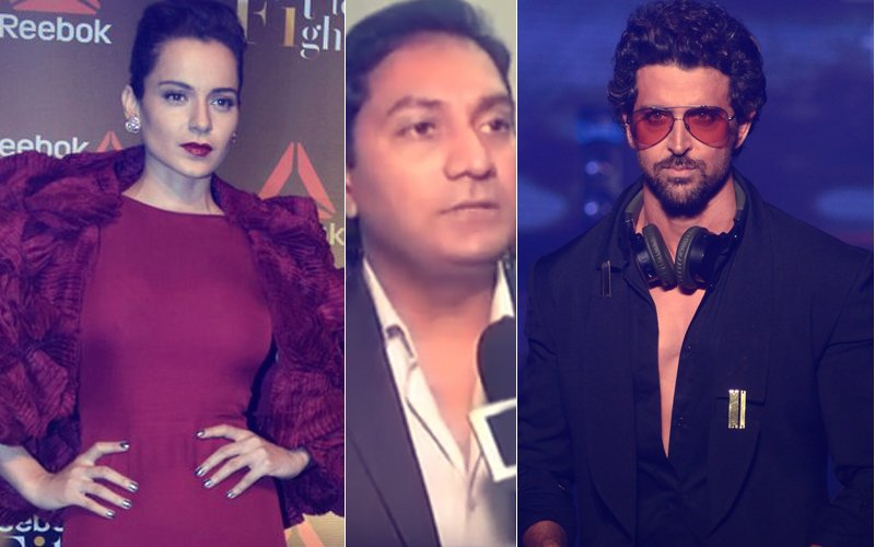 Kangana Ranaut's Lawyer Heads To TV Channel To LAMBAST Hrithik Roshan
