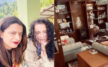 INSIDE Kangana Ranaut's Sister Rangoli Chandel's Home In Kullu; Actress Helped Her Give Her 'Dream Home' Final Touches