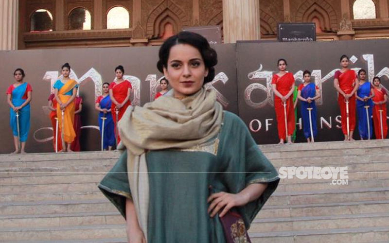 Kangana Ranaut Launches Bharat Song From Manikarnika With Grandeur