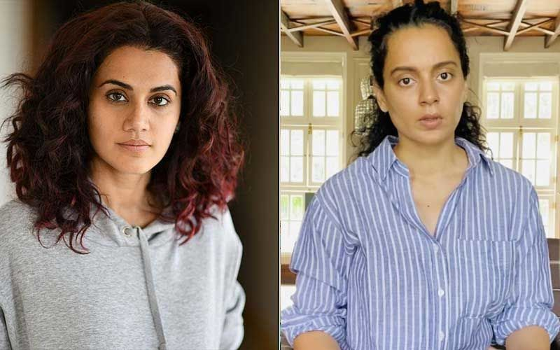 Taapsee Pannu Gets Back At Kangana Ranaut For Calling Her A 'B Grade Actress' While Replying To Faye D'Souza, Kanika Dhillon's 'Taapsee Appreciation Post'