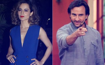 Kangana Ranaut's Stern Reply To Saif Ali Khan's Open Letter On Nepotism