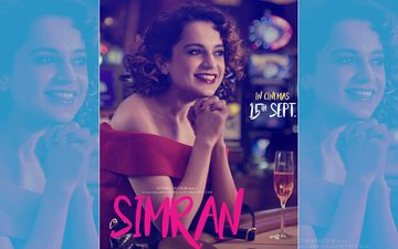 Simran New Poster Out: Kangana Ranaut Goes Glam In Red