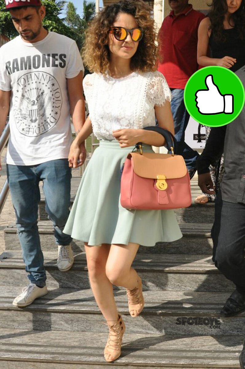 kangana ranaut snapped outside pvr