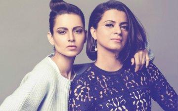 Kangana Ranaut's Pregnant Sister Rangoli Rubbishes Rumours Of A Showdown Between The Sisters