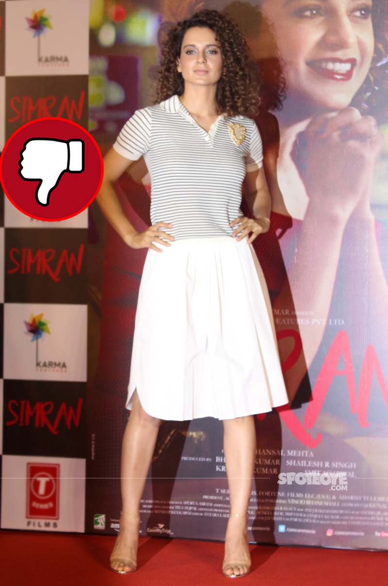 kangana rannaut at the trailer launch of simran