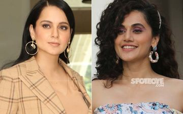 Amid Feud With Kangana Ranaut, Taapsee Pannu Shares A Cryptic Post: 'Kill Them With Success And Bury Them With A Smile'
