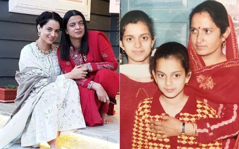 Kangana Ranaut's Sister Rangoli Calls Actress 'Chotu' In This Snap From 1998