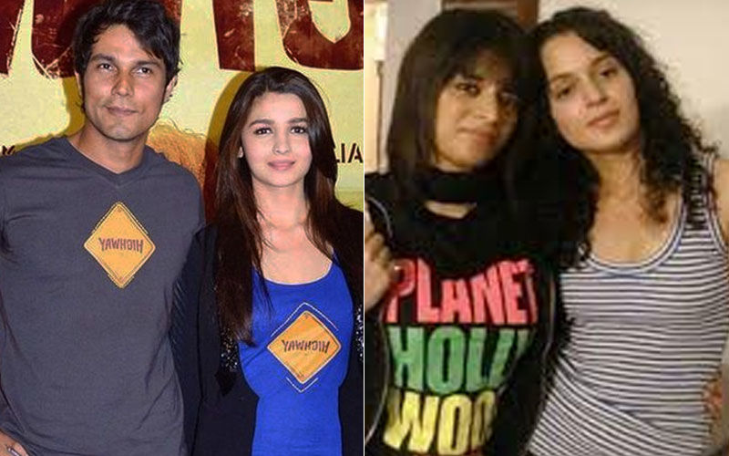 Randeep Hooda Stands Up For Alia Bhatt Against Kangana Ranaut, Gets Rangoli Fired Up!