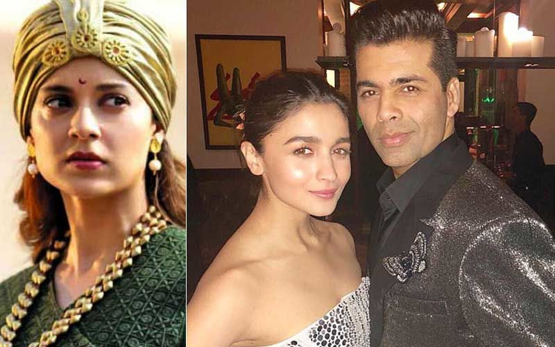 "Kangana Ranaut Tells Alia Bhatt To ""Grow Some Spine""; Asks Her If She's Just ""KJo's Puppet"""