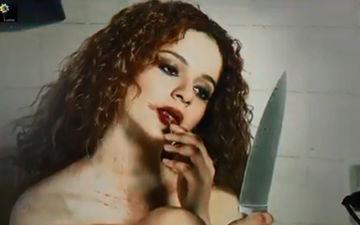 कंगना रनौत की फिल्म 'मेंटल है क्या' का नया मोशन पोस्टर हुआ रिलीज़, ऐसे लुक में आई नज़र