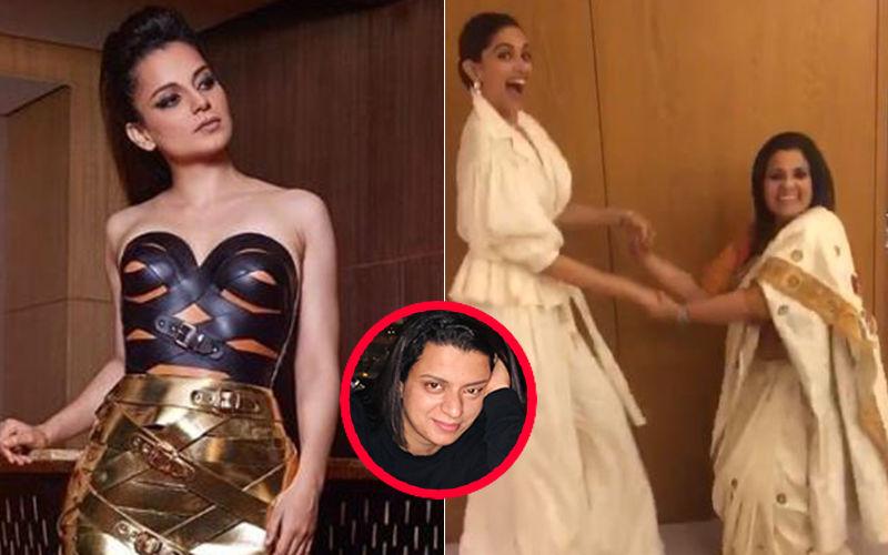 """Kangana Ranaut's Sister Rangoli Attacks Deepika Padukone, """"Depression Videos Pe Baraatiyon Ki Tarah Nach Rahe Hain"""""""