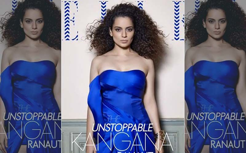 Kangana Ranaut Owns The French Riviera For The July Cover Of Elle India
