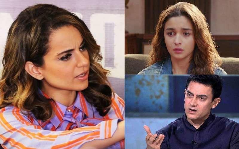 कंगना रनौत ने किया बॉलीवुड के दोगलेपन का भांडाफोड़, कहा- आमिर खान और आलिया भट्ट मतलब के लिए करते थे फोन