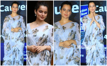Kangana Ranaut, Care To Give Classes For Draping The Classiest Sarees?