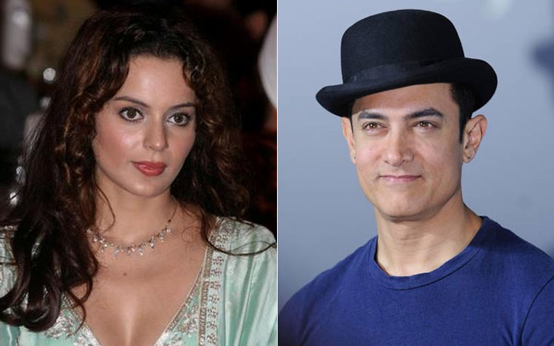 Kangana Ranaut Lends Support To Aamir Khan's Paani Foundation; Donates 1 Lakh To Help Farmers