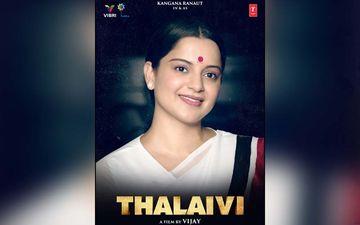 Thalaivi New Look: Kangana Ranaut's special Ode To Late Jayalalithaa On Her Birth Anniversary