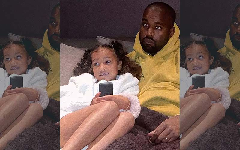 North West Makes A Surprise Cameo In Dad Kanye West's 'Wash Us In The Blood', Dances  Blissfully In The New Music Video- WATCH