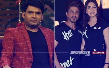 Finally, Kapil Sharma To Shoot With Shah Rukh Khan & Anushka Sharma For Jab Harry Met Sejal