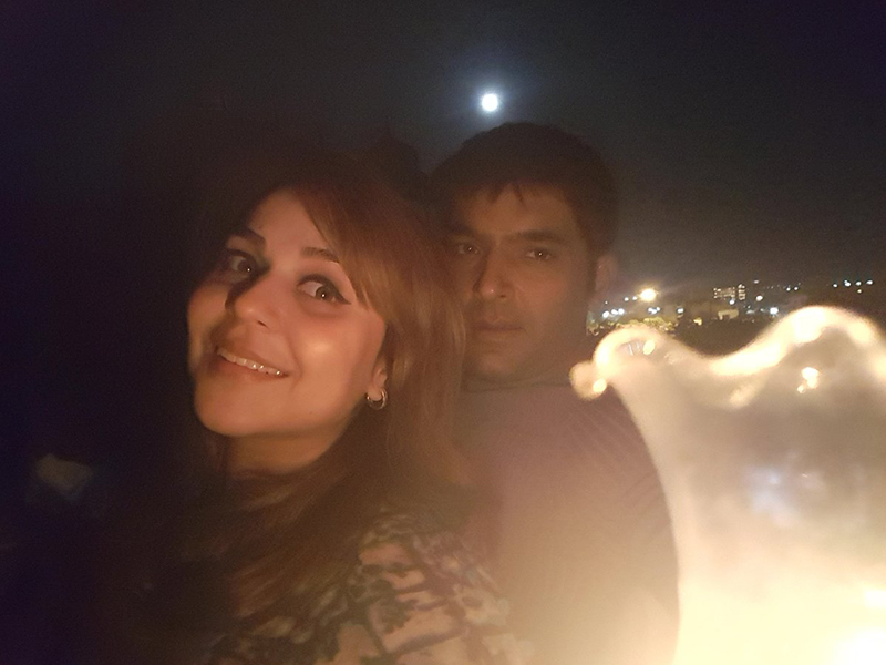 kapil sharma ginni chatrat during happier times