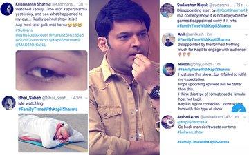 Twitterati Slam Kapil Sharma's New Show; Even Ex-Girlfriend's Good Wishes Didn't Help