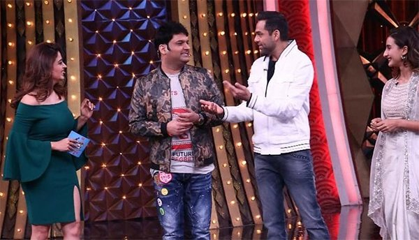 Kapil Sharma With Abhay Deol