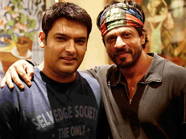kapil sharma with shah rukh khan