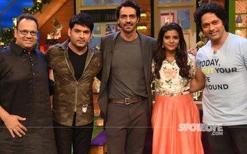 Daddy Lead Actors- Arjun Rampal & Aishwarya Rajesh Promote Their Film On-The-Sets Of The Kapil Sharma Show