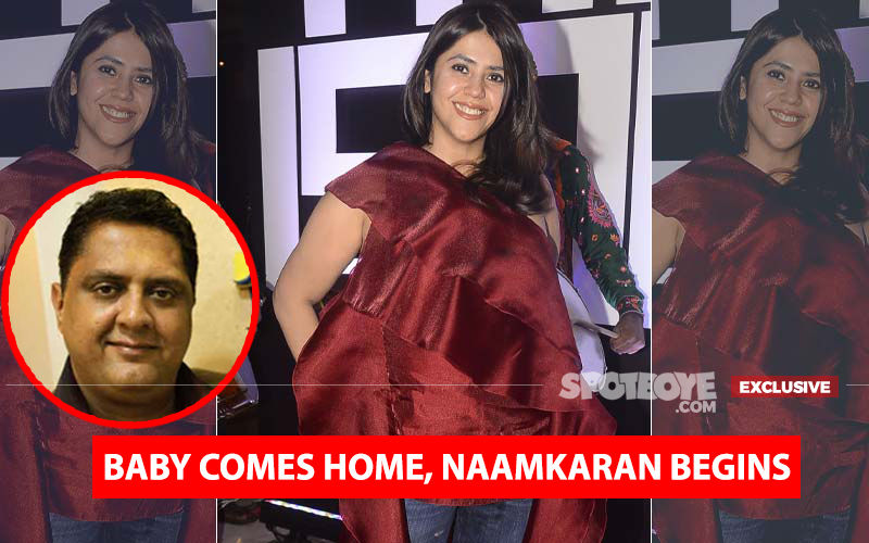 New Mom Ekta Kapoor's Baby's Naamkaran Begins, Knocks Astrologer's Door And This Is What Happened Next