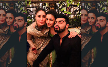Kareena Kapoor Khan, Alia Bhatt And Arjun Kapoor's Pout Game Is On Point In This Oh-So-Hot Selfie