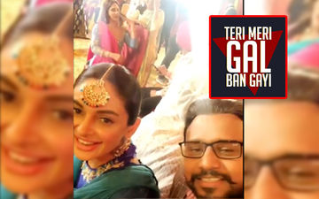 Karamjit Anmol Shares A BTS Video From The Sets Of 'Teri Meri Gal Ban Gayi'