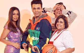 Shah Rukh Khan Is Embarrassed As He Photobombs Rahul Karan Johar And Tina Gauri Khan's Kuch Kuch Hota Hai Moment