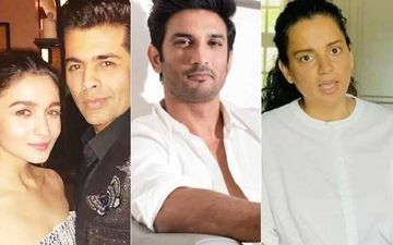 Sushant Singh Rajput Death: Netizens Bash Alia Bhatt And Karan Johar For Their 'Double Standards'; #KanganaRanaut Trends For Calling Out KWK
