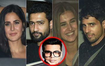 Katrina Kaif, Vicky Kaushal, Tara Sutaria, Sidharth Malhotra At Karan Johar's Belated Birthday Bash