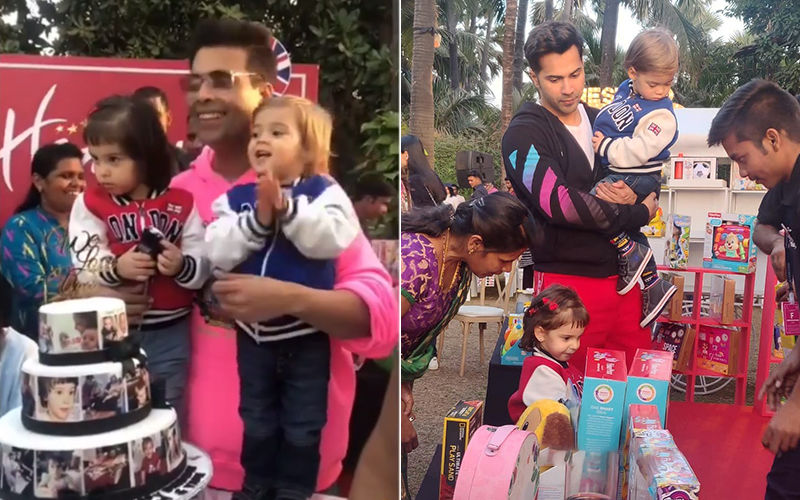 Karan Johar Celebrates Yash And Roohi's Birthday; Varun Dhawan Joins The Party-Inside Pics And Videos