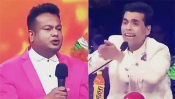 Karan Johar Facepalms After Seeing Deepak Kalal's Bathroom Tales On India's Got Talent