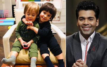 Karan Johar Shares A Lovely Picture Of His Twins, Calls Roohi A Protective Elder Sister To Yash