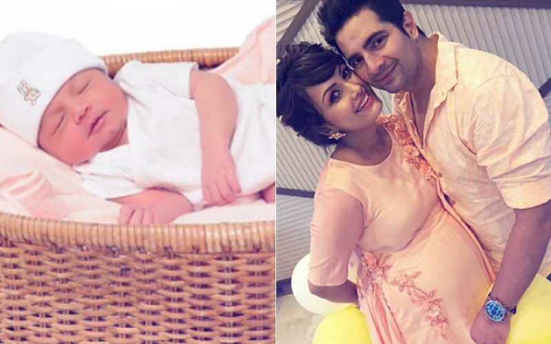 Karan Mehra & Nisha Rawal Share The First Picture Of Baby Boy Kavish