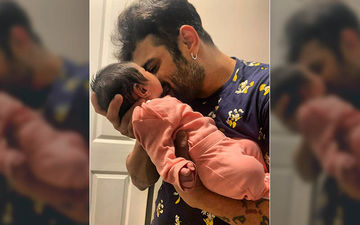 Karan Patel's 'Rab Di Mehr' Photo Is All Heart; Shares An Aww-Dorable Pic Of His Lil Babe