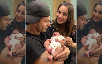 Karan Singh Grover- Bipasha Basu Cuddle Vivan Bhathena's Baby Girl- View Pics