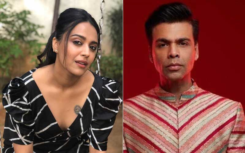When Swara Bhasker Questioned Karan Johar For Launching Star Kids; 'If You're Not Good At What You Do There's No Way You Gonna Last' Said KJo