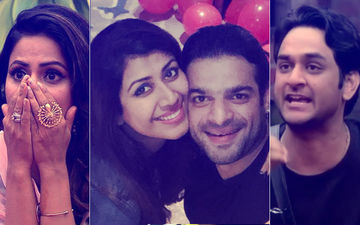 Hina Khan's Fan Attributes Karan Patel's Wife's Miscarriage To Husband's Karma! Vikas Gupta Snarls Back!!