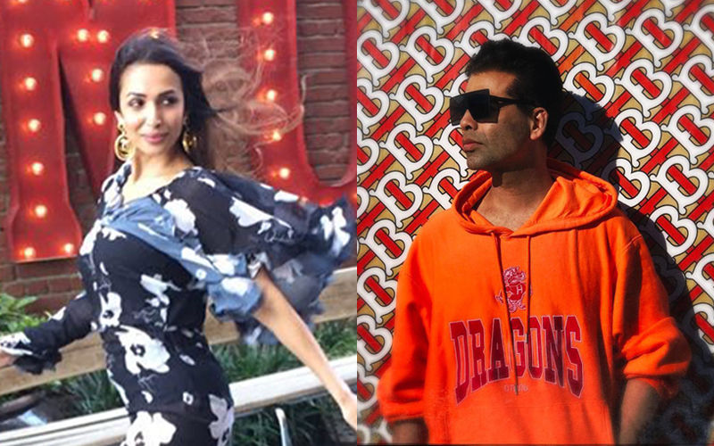 "Malaika Arora Blushes As Karan Johar Teases Her About Milan Holiday; Asks, ""Did You Go Alone?"""