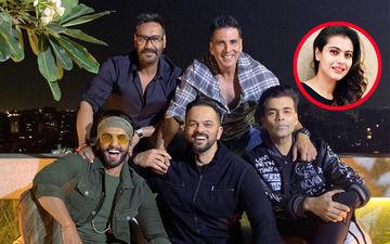 Ajay Devgn Rewrites Kajol-Karan Johar Friendship, Attends Filmmaker's Simmba Success Bash